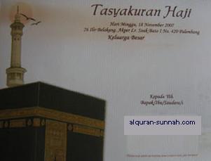 Selamatan Berangkat Haji